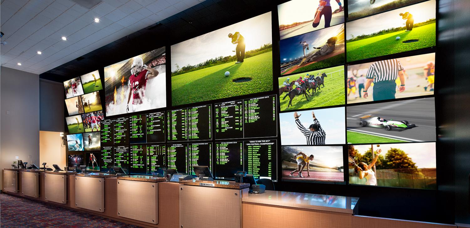 Sports Book at Aquarius
